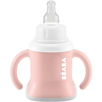 Tasse evoluclip 3 en 1 old pink (150 ml)  par Béaba