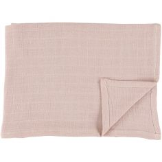 Lot de 2 langes en mousseline de coton Bliss Rose (110 x 110 cm)