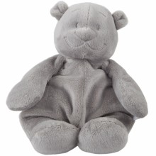 Peluche ours Nouky Poudre d'étoiles gris clair (25 cm)  par Noukie's