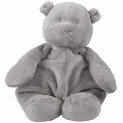 Peluche ours Nouky Poudre d'étoiles gris clair (25 cm) Noukie's