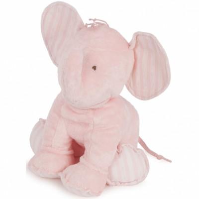 Peluche Ferdinand l'éléphant rose (35 cm) Tartine et Chocolat