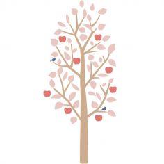 Sticker mural Small Apple Tree rose (140 cm)