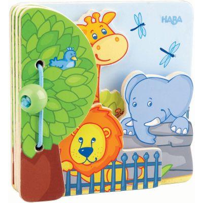 Livre pour bébé Les amis du zoo Haba