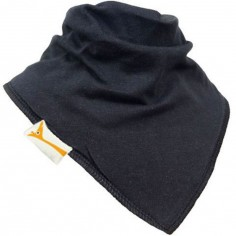 Bavoir bandana uni noir