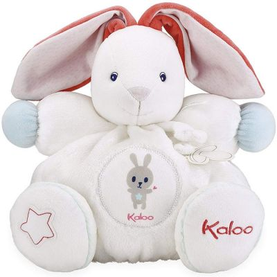 Doudou attache sucette Imagine Patapouf Lapinou crème (28 cm)  par Kaloo