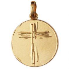 Médaille Croix de Lay (or jaune 750°)