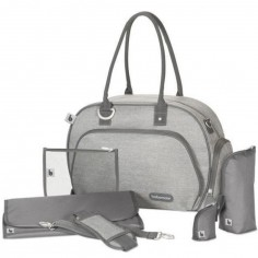 Sac à langer Trendy Bag Smokey gris