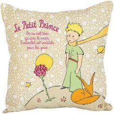 Coussin Le Petit Prince rose (45 x 45 cm)