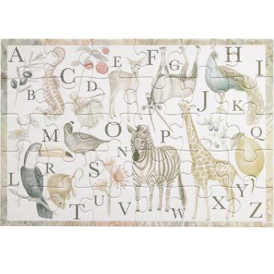 Puzzle Alphabet animaux (30 pièces)  par Cam Cam Copenhagen