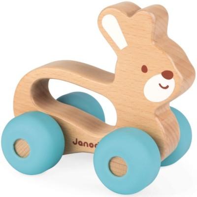 Lapin roulant Baby Pop Janod
