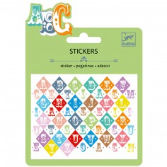 Minis stickers Lettres Saloon