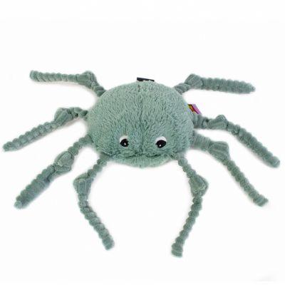 Peluche Les Ptipotos Ricominfou l'araignée verte (15 cm)  par Les Déglingos