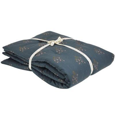 Couverture Madeleine bleu prestige (70 x 100 cm)  par Maison Charlotte