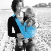 Porte bébé Baby Sling violet foncé  par Minimonkey