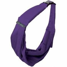 Porte bébé Baby Sling violet foncé