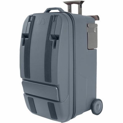 Valise la Multi 6 en 1 gris anthracite  par Canailles Dream