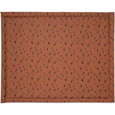 Tapis de parc plastifié Spot caramel (75 x 95 cm)  par Jollein