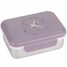 Lunch box en inox Adventure Libellule