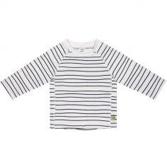 Tee-shirt anti-UV manches longues Marin bleu (2 ans)
