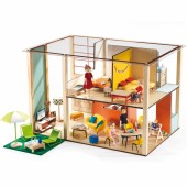 Maison de poupées Cubic - Djeco