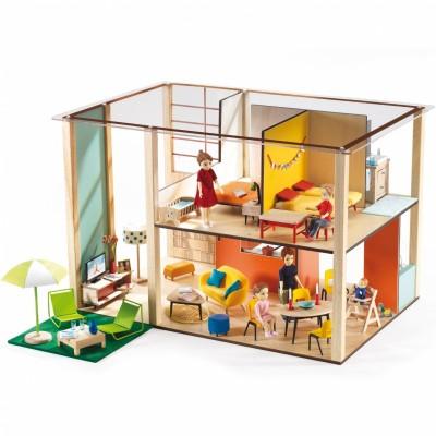 Maison de poupées Cubic  par Djeco