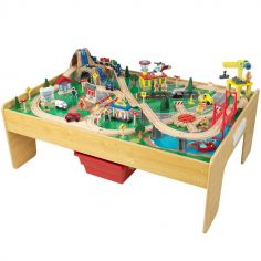 Table avec circuit de train Adventure Town