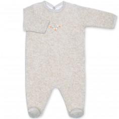 Pyjama léger en terry Apawi jerry (3-6 mois : 60 à 67 cm)