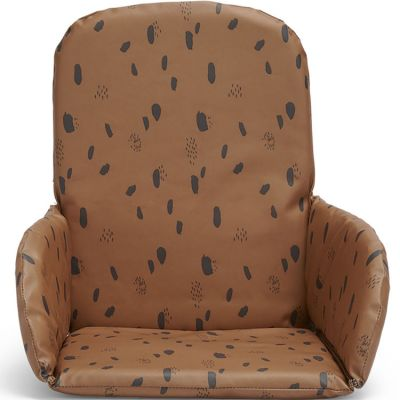 Coussin chaise haute Spot caramel