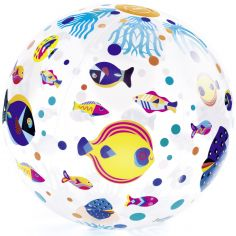 Ballon gonflable Poisson