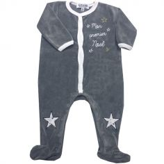 Pyjama chaud Mon Premier Noël (6 mois)