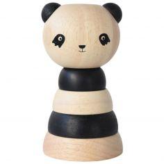 Tour à empiler en bois Panda