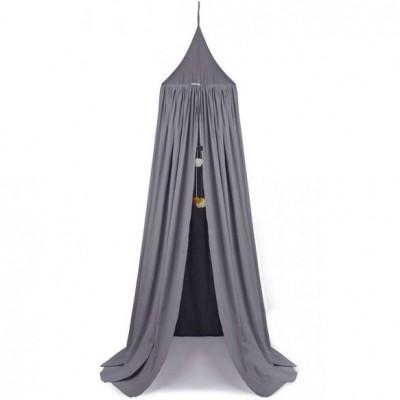 ciel de lit enzo gris anthracite par liewood. Black Bedroom Furniture Sets. Home Design Ideas