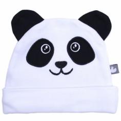 Bonnet en coton Panda