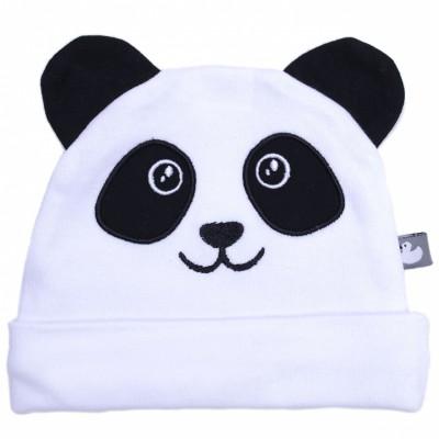 Bonnet en coton Panda  par BB & Co
