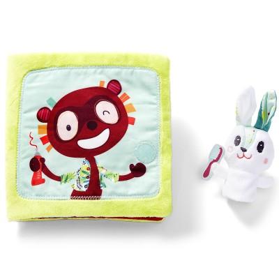 Livre bébé Petit lapin dentiste  par Lilliputiens