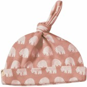Bonnet noué Pink Bear (0-5 mois) - Pigeon