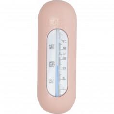 Thermomètre de bain rose poudré