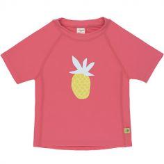 Tee-shirt anti-UV manches courtes Ananas (12 mois)