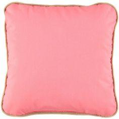 Coussin carré Joe Indian pink (19 x 19 cm)