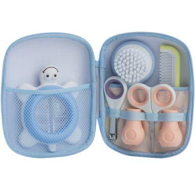 Trousse de soin Paper boat bleue (5 accessoires)  par Bébé Confort