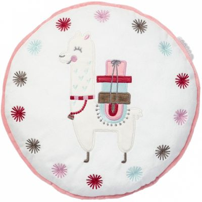 Coussin rond Little Lama (31 cm)  par Little Band
