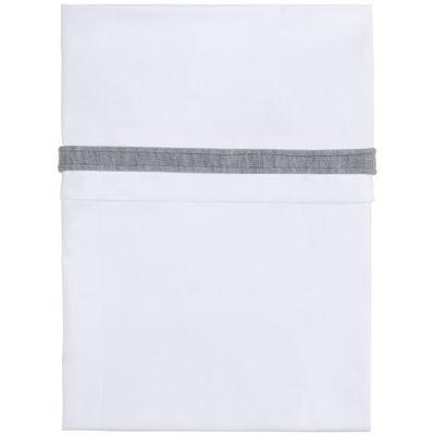 Drap liseré gris (150 x 120 cm)  par Baby's Only