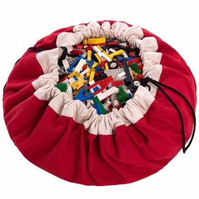 sac jouets 2 en 1 rouge play go berceau magique. Black Bedroom Furniture Sets. Home Design Ideas