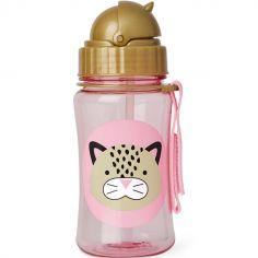 Gourde à paille Zoo léopard (350 ml)