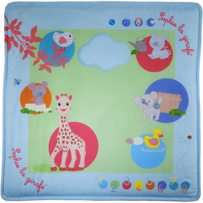 Tapis d'éveil intéractif Sophie la girafe Fresh Touch (100 x 100 cm)  par Sophie la girafe