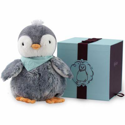 Coffret peluche Pépit' le pingouin (25 cm) Kaloo