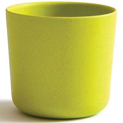 Gobelet en bambou Bambino vert citron (250 ml)  par EKOBO