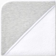 Cape de bain grise (90 x 90 cm)
