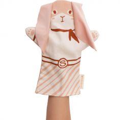 Marionnette à main lapin Bunny super-héros
