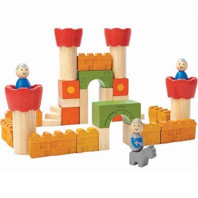 Blocs de construction Château (35 pièces)  par Plan Toys